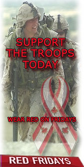 Visit Red Fridays Canada Support Our Troops